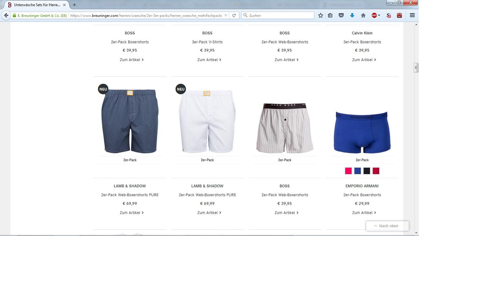 Breuninger Online Shop 02_11_2015